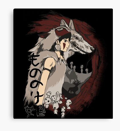 Keepers of the forest mononoke Canvas Print
