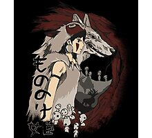 Keepers of the forest mononoke Photographic Print
