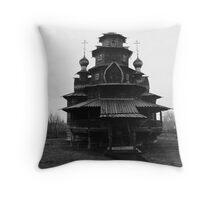 Old Russian Church Throw Pillow