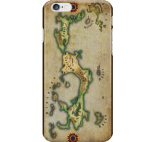 Arcaron old map iPhone Case/Skin