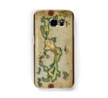 Arcaron old map Samsung Galaxy Case/Skin