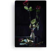 Romance is Dead Canvas Print
