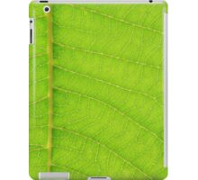 Go Green, Save the Earth - Mother Nature' Veins iPad Case/Skin
