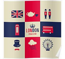 City Of London United Kingdom England Poster