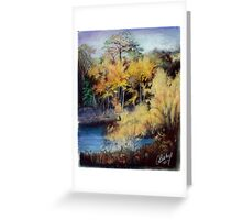 Kathy's Pond Greeting Card