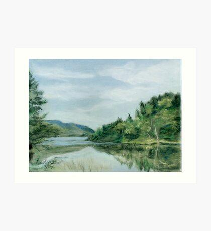 Reflections of Nova Scotia Art Print