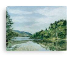 Reflections of Nova Scotia Canvas Print