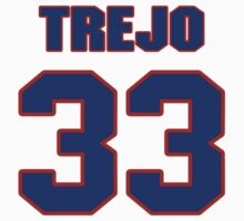 National football player Stephen Trejo jersey 33 by imsport