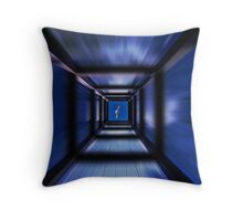 flying to the freedom Throw Pillow