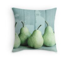 Just Pears Throw Pillow