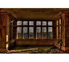 A Room With A View..... Photographic Print