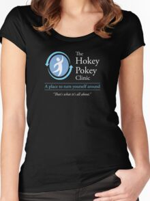 The Hokey Pokey Clinic Women's Fitted Scoop T-Shirt