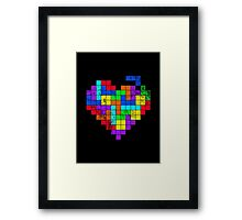 THE GAME OF LOVE ( Dark Version ) Framed Print