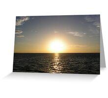 Sunset Nai Harn Bay - Thailand Greeting Card