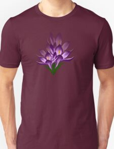 Crocus Flower T-Shirt