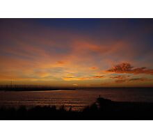 Sunset over Brighton Photographic Print