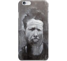 Tom Waits, What's he building in there? Painting iPhone Case/Skin