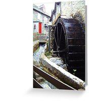 Aberfeldy Watermill Greeting Card