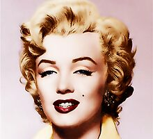 Marylin Monroe (from black and white to color) by Athina Monclus