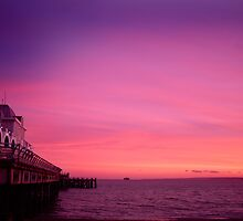 South parade pier by Drew Walker