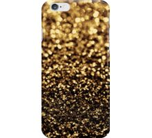black gold iPhone Case/Skin
