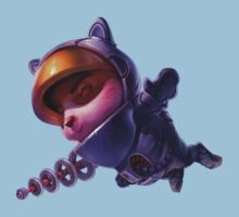 Astronaut Teemo ^_^ by The Flaming  Potato
