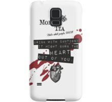 Moriar-Tea Samsung Galaxy Case/Skin