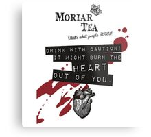 Moriar-Tea Metal Print