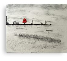 Duck Blind Canvas Print