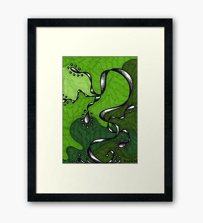 Healing Turmoil Framed Print