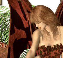 Celtic Flower Fairy Sticker