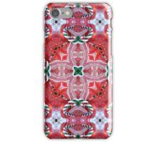 Kandy Kane Kaleidoscope iPhone Case/Skin