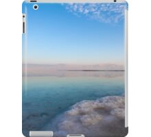 Israel, Dead Sea, salt crystalization iPad Case/Skin