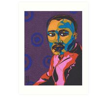 Martin Luther King Jr. Art Print