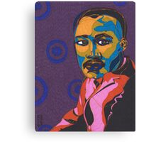 Martin Luther King Jr. Canvas Print