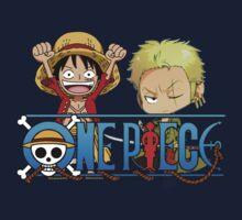 One Piece - Luffy & Zoro by mister92