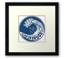 The War On Drugs Framed Print