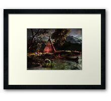 Hanyewi Valley Framed Print