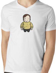 Captain Kirk Mens V-Neck T-Shirt
