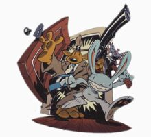Sam & Max - Door Art Baby Tee
