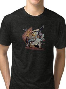 Sam & Max - Door Art Tri-blend T-Shirt