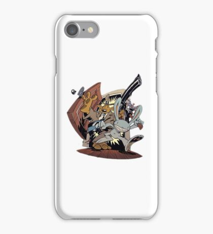 Sam & Max - Door Art iPhone Case/Skin
