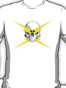 Skull and Lightning Bolts T-Shirt