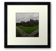 Fortress Floor Framed Print