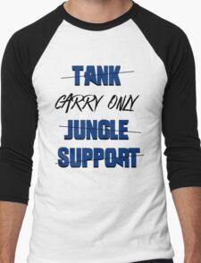 #carry only LOL Men's Baseball ¾ T-Shirt