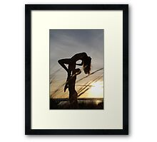 Celebrating the Woman Framed Print
