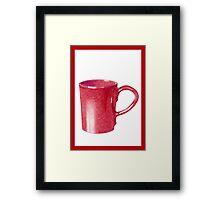 Red Hot Mug Framed Print