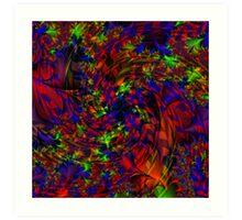 Visual Psychedelia Series  Art Print