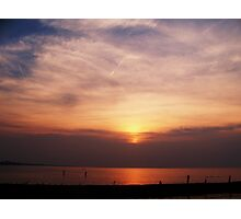 Sunsets on Lakeshore  Photographic Print