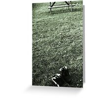 Barefoot in the Park  Greeting Card
